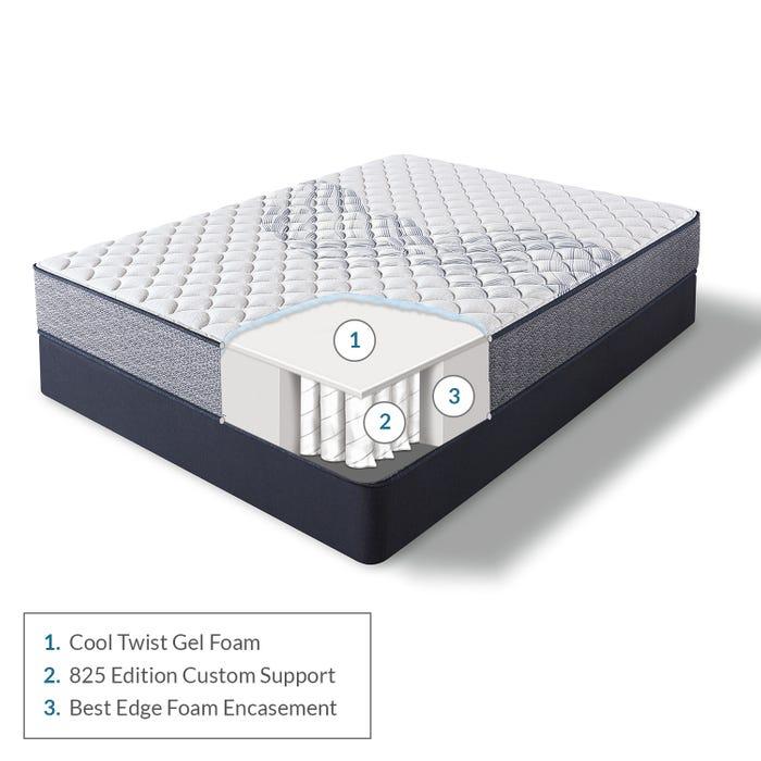 Serta Perfect Sleeper Elkins Ii Firm My Sleep Mattress